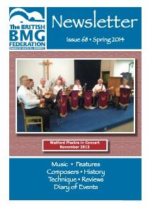BMG Newsletter Issue 68 Winter 2013