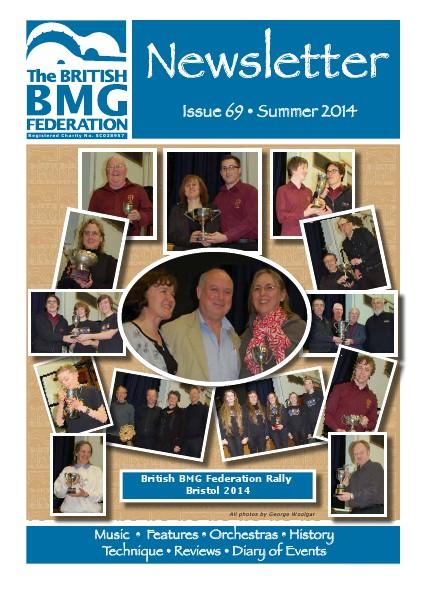 BMG Newsletter Issue 69 Spring 2014