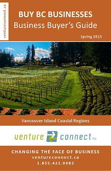 BUY BC BUSINESSES Business Buyer's Guide Vancouver Island Coastal Region