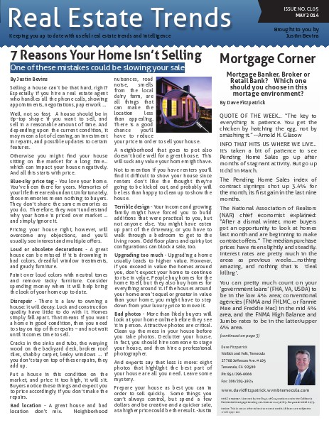 Canyon Lake Real Estate Trends Issue CL05