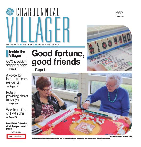 2019 Mar issue Villager newspaper