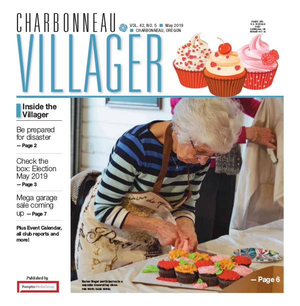 The Charbonneau Villager Newspaper 2019 May issue Villager newspaper