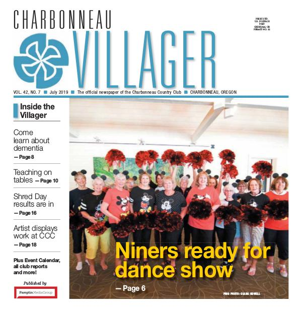 The Charbonneau Villager Newspaper 2019 July issue Villager Newspaper