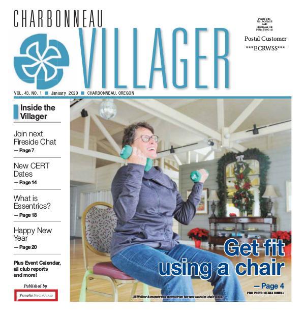 The Charbonneau Villager Newspaper 2020_Jan issue Villager newspaper