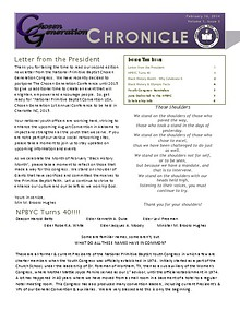 Chosen Generation Chronicle