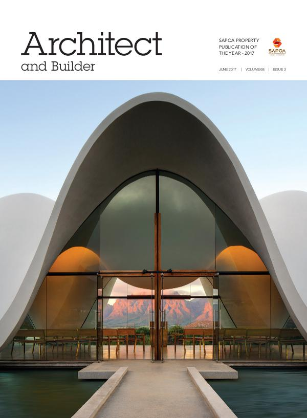 Architect and Builder Magazine South Africa June 2017