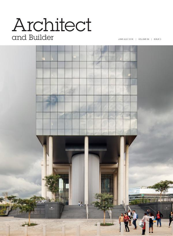 Architect and Builder Magazine South Africa June/July 2018