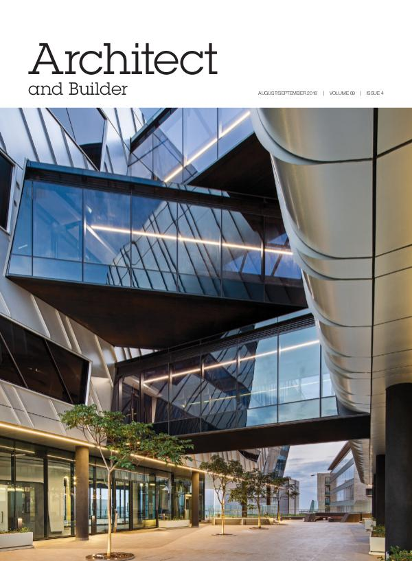 Architect and Builder Magazine South Africa August/September 2018