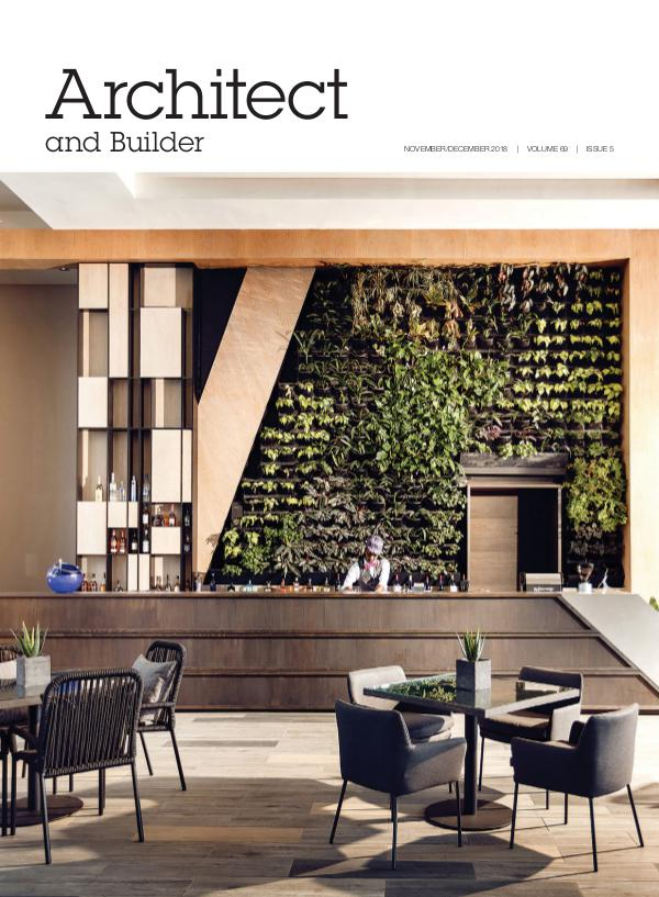Architect and Builder Magazine South Africa November/December 2018