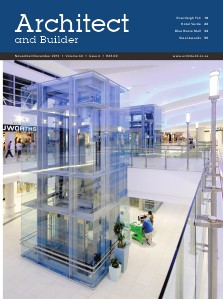 Architect and Builder Magazine South Africa November/December 2013