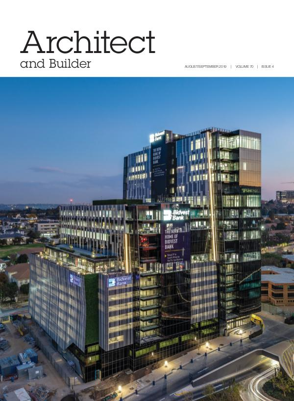 Architect and Builder Magazine South Africa August/September 2019