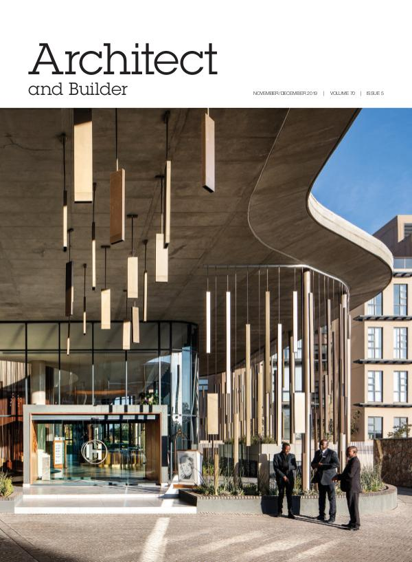 Architect and Builder Magazine South Africa November/December 2019