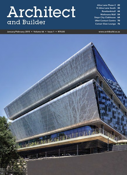 Architect and Builder Magazine South Africa January/February 2015