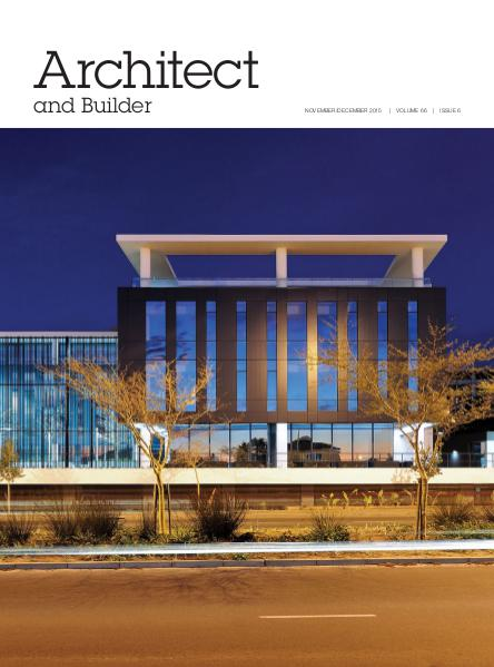 Architect and Builder Magazine South Africa November/December 2015