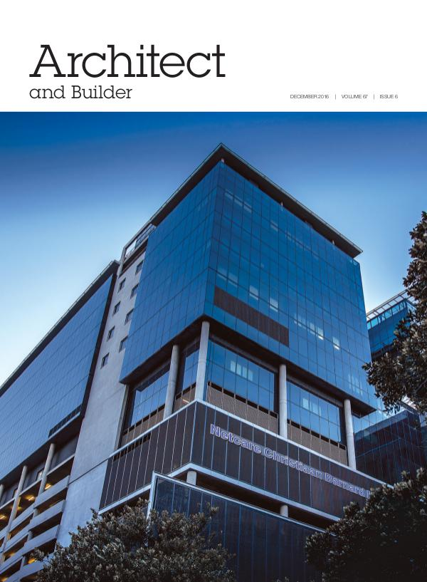 Architect and Builder Magazine South Africa December 2016