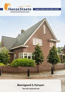 Boomgaard 3, Kampen