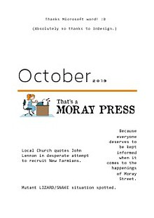That's A Moray Press