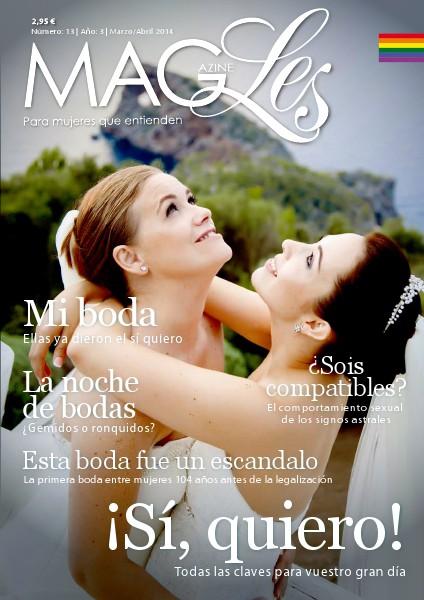 MagLes 13   ¡Sí Quiero!   Marzo/Abril 2014