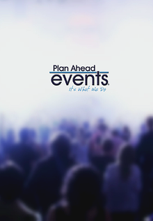 Plan Ahead Events Presentation
