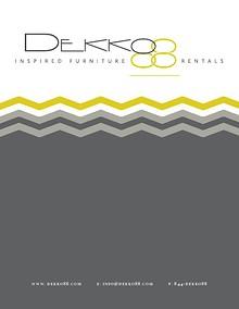 DEKKO88 Lounge Furniture Rental