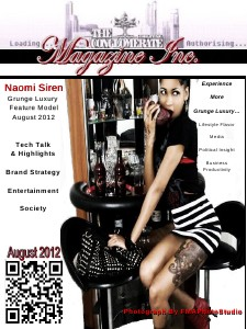 The Digital Conglomerate Magazine Inc. - August 2012 Issue () August 2012