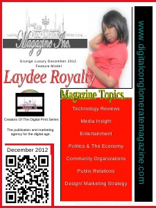 The Digital Conglomerate Magazine Inc. - December 2012 Issue (Dec. 2012)