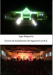 Revista del Centro de Estudiantes de Ingenieria U.N.A.