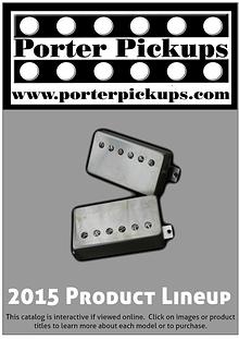 Porter Pickups 2013 Product Lineup