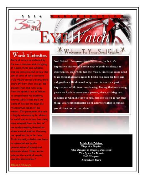 3rd Eye Watch Early Pre-Spring Edition