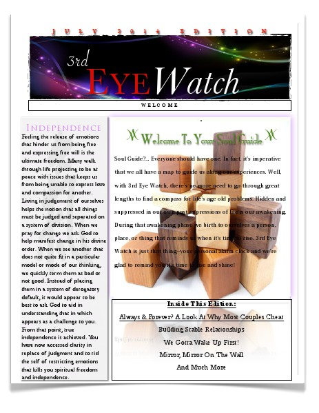 3rd Eye Watch July Edition 3rd Eye Watch July Edition