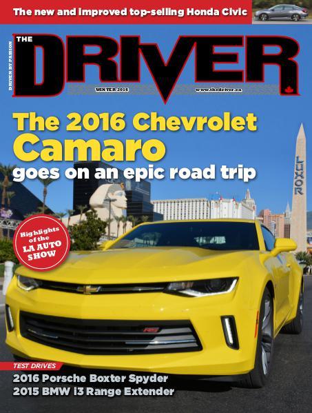 The Driver - Winter 2016 Winter 2016