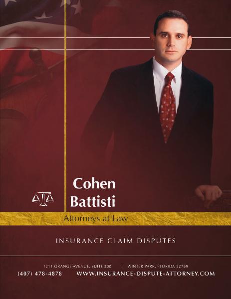 Insurance Claim Disputes (Feb. 2014)