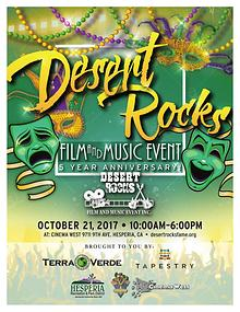 Desert Rocks Film and Music Event