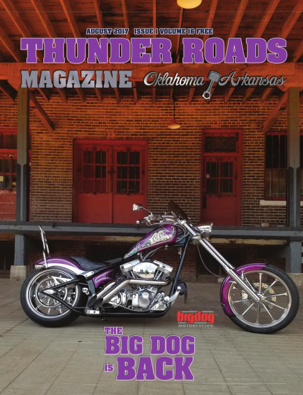 Thunder Roads Magazine of Oklahoma/Arkansas August TRMOK _FINAL
