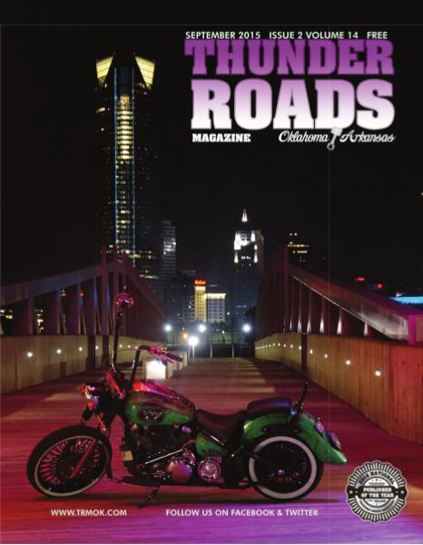 Thunder Roads Magazine of Oklahoma/Arkansas September 2015
