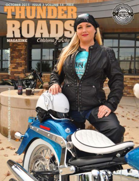 Thunder Roads Magazine of Oklahoma/Arkansas October 2015