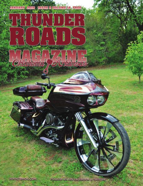 Thunder Roads Magazine of Oklahoma/Arkansas January 2016