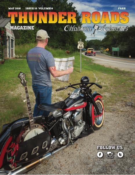Thunder Roads Magazine of Oklahoma/Arkansas May 2016