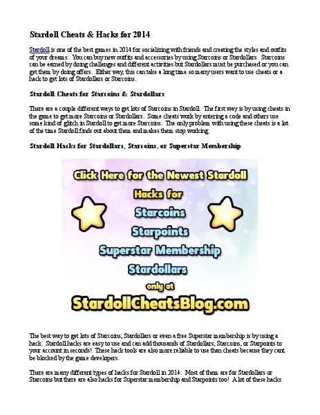 Stardoll - Virtual Worlds for Ladies 1