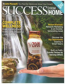 Success From Home Magazine - April 2014 Zurvita