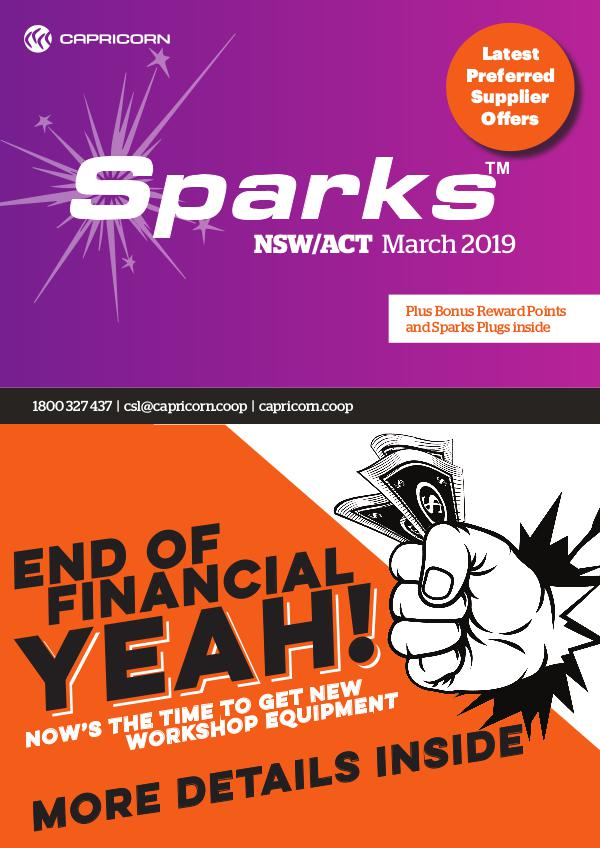 Sparks NSW MARCH 2019 NSW SPARKS ONLINE