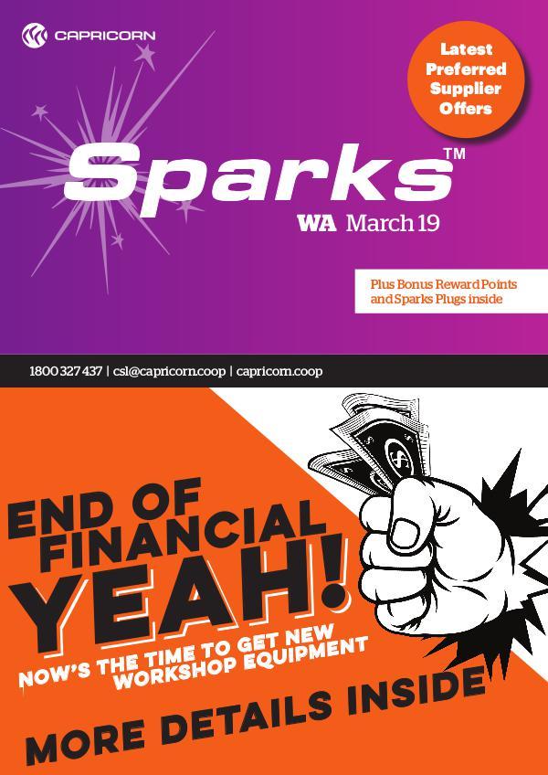 Sparks WA MARCH 2019 WA SPARKS ONLINE