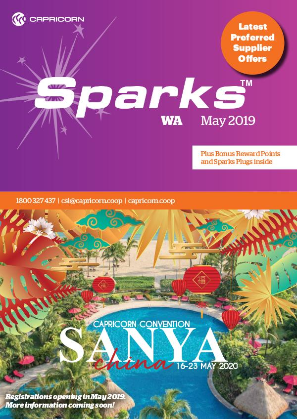 Sparks WA MAY 2019 SPARKS WA ONLINE