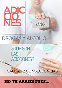 Adicciones: Drogas y Alcohol