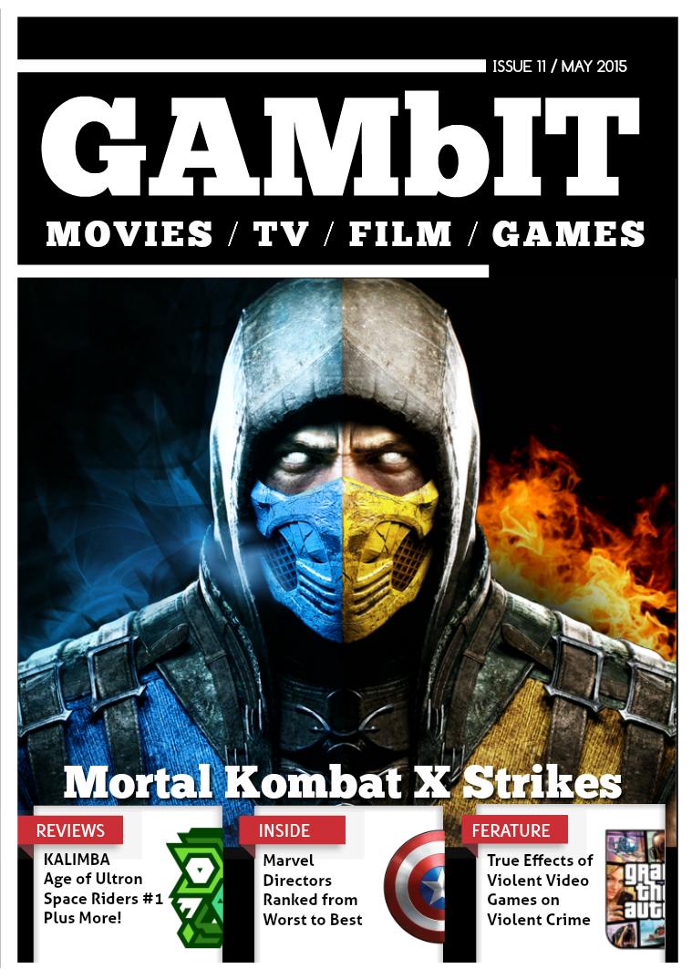GAMbIT Magazine Issue #11 May 2015