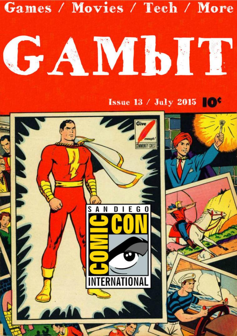 GAMbIT Magazine Issue #13 July2015