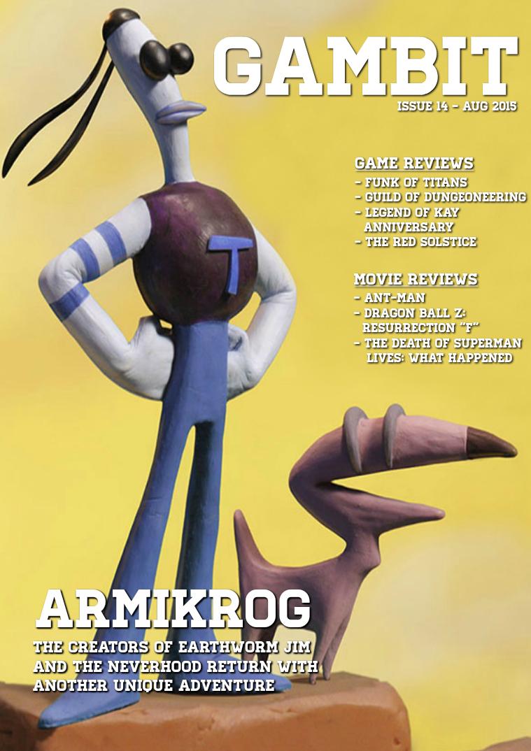 GAMbIT Magazine Issue #14 August 2015