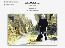 McGahern the man