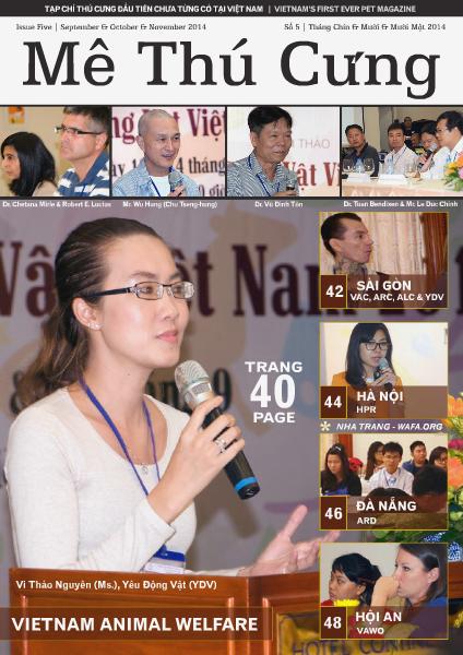 Mê Thú Cưng - Pet Magazine for Vietnam | Số 5 | Issue Five | Animal Welfare Vietnam