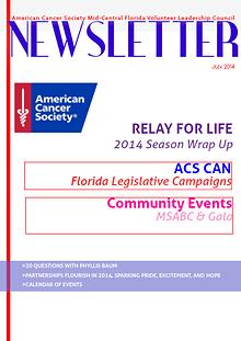 ACS Mid-Central Florida E-Newsletter